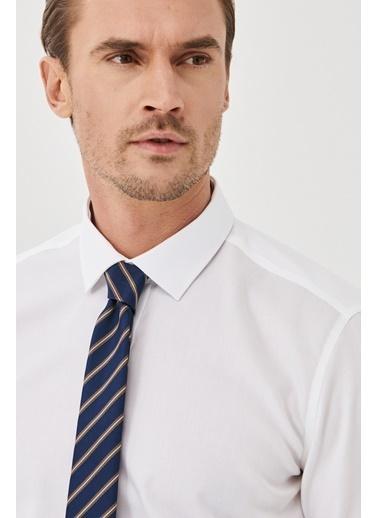 Altınyıldız Classics Ütü Gerektirmeyen Non-Iron Tailored Slim Fit Gömlek 4A2000000007 Beyaz